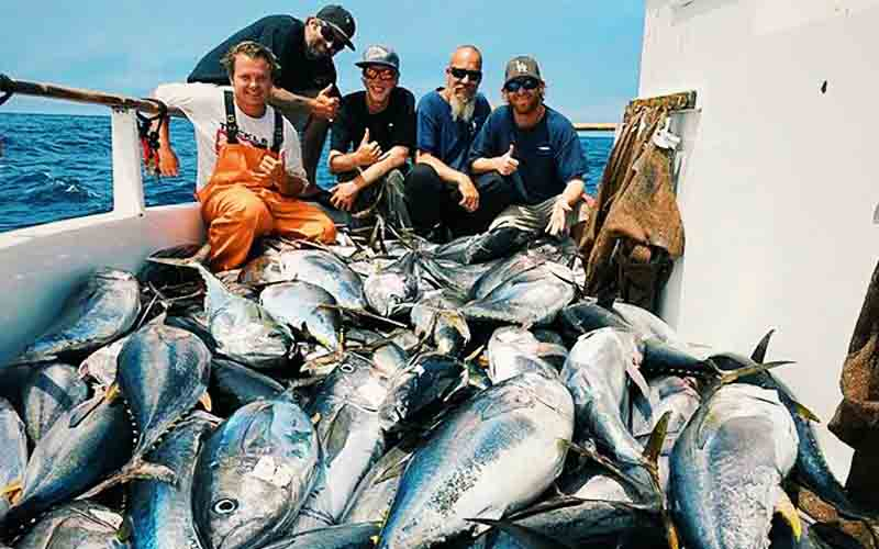 Saltwater fishing Schedule and Trips Available