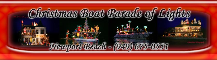 2017 Newport Beach Christmas Boat Parade Cruises Site